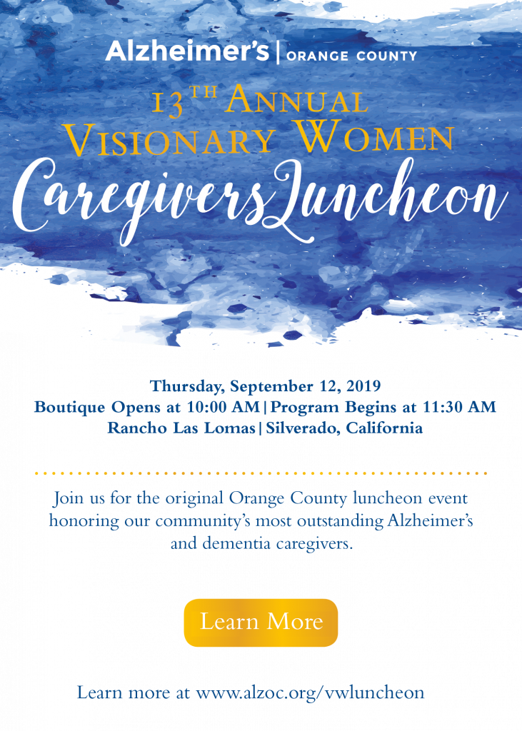 Visionary Women Caregivers Luncheon @ Rancho Las Lomas | Silverado | California | United States