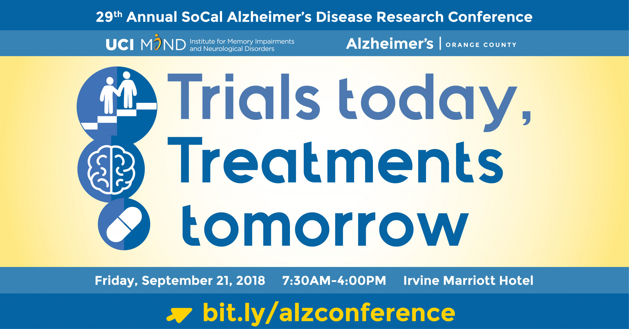 29th Annual SoCal Alzheimer's Disease Research Conference: Trials